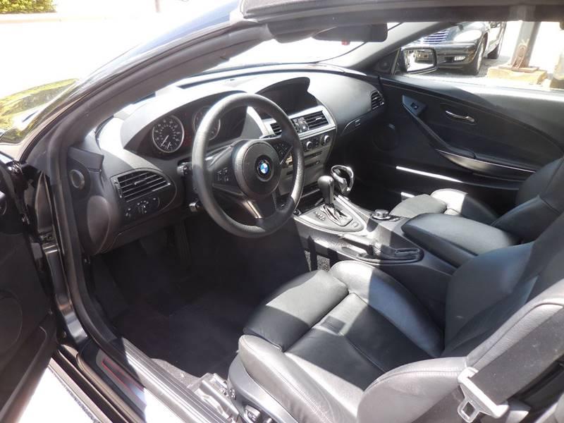 2007 BMW 6 Series 650i 2dr Convertible - Smithfield RI
