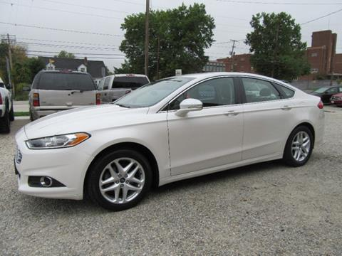 2013 Ford Fusion for sale in Akron, OH