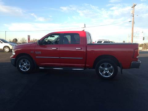 2014 RAM Ram Pickup 1500 for sale at Village Motors in Sullivan MO