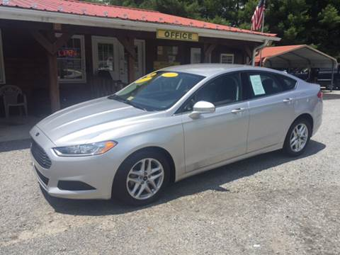 2014 Ford Fusion ... & Ford Used Cars financing For Sale Galax WATSON AUTO INC markmcfarlin.com