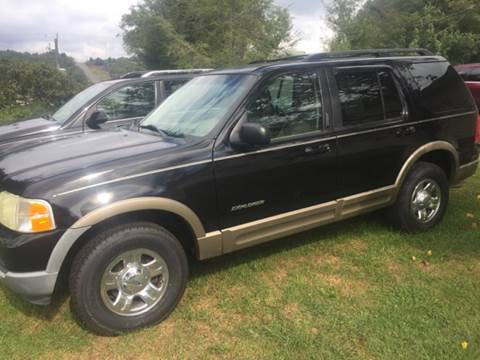2002 Ford Explorer ... & Ford Used Cars financing For Sale Galax WATSON AUTO INC markmcfarlin.com