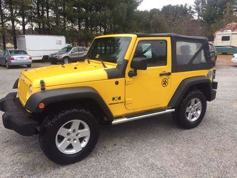 2008 Jeep Wrangler for sale in Galax, VA
