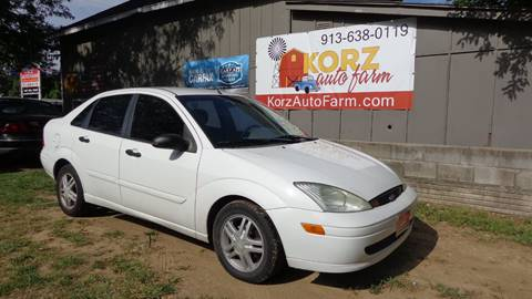 2002 Ford Focus for sale in Kansas City, KS