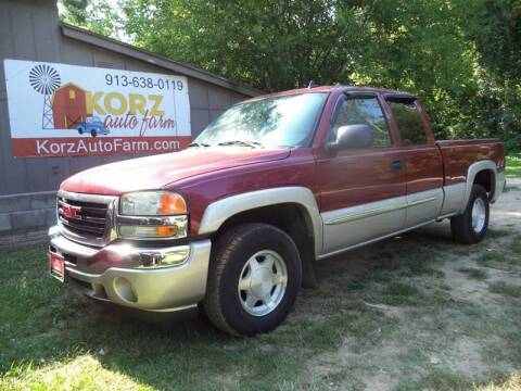 2006 GMC Sierra 1500 for sale at Korz Auto Farm in Kansas City KS