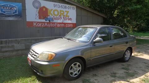 2004 Hyundai Accent for sale in Kansas City, KS