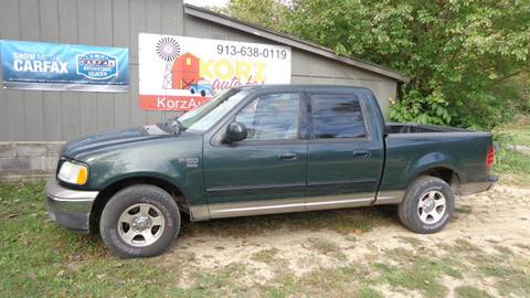 2003 Ford F-150 for sale in Kansas City, KS