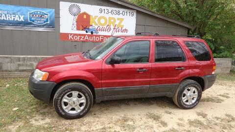 2003 Ford Escape for sale in Kansas City, KS