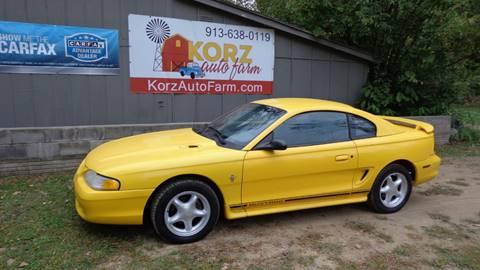 1998 Ford Mustang for sale in Kansas City, KS