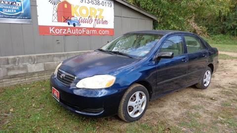 2006 Toyota Corolla for sale in Kansas City, KS