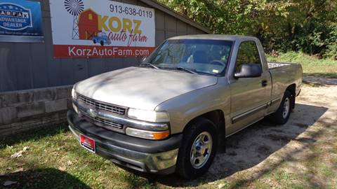 2001 Chevrolet Silverado 1500 for sale in Kansas City, KS