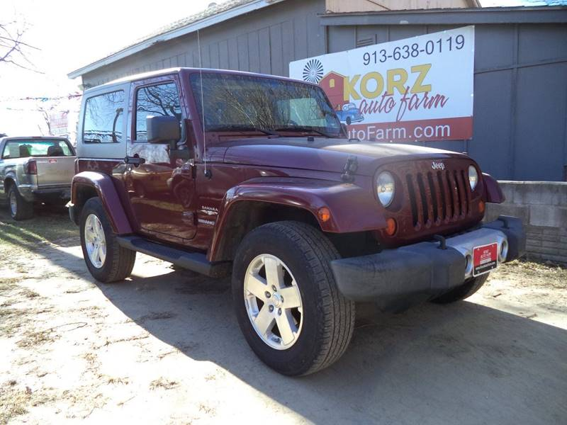 2008 Jeep Wrangler For Sale >> 2008 Jeep Wrangler Sahara In Kansas City Ks Korz Auto Farm