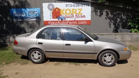 2002 Chevrolet Prizm for sale in Kansas City, KS