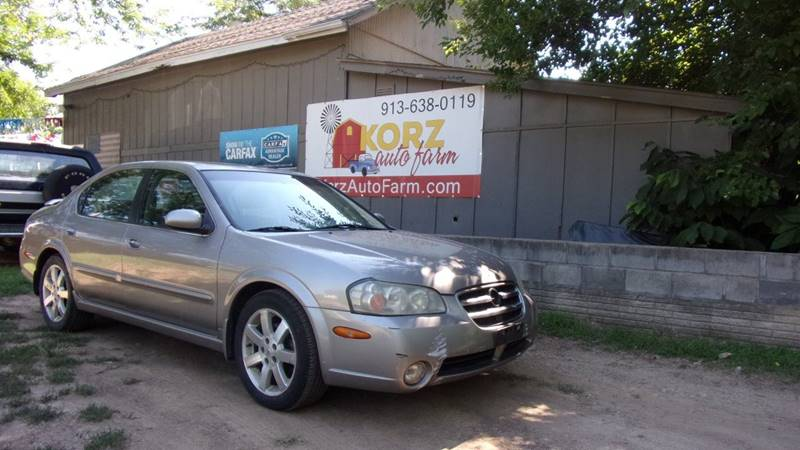 2003 Nissan Maxima Se In Kansas City Ks Korz Auto Farm