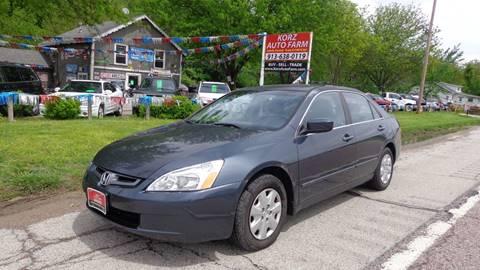 2004 Honda Accord for sale in Kansas City, KS