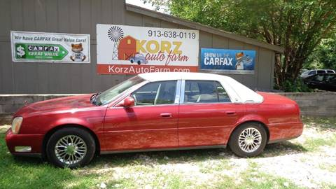 2005 Cadillac DeVille for sale in Kansas City, KS