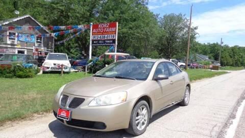 2006 Pontiac G6 for sale in Kansas City, KS