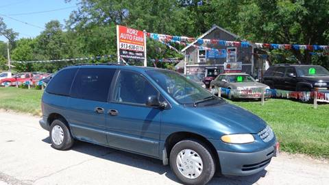 2000 Plymouth Voyager for sale in Kansas City, KS