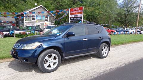 2003 Nissan Murano for sale in Kansas City, KS