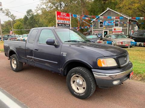 2000 Ford F-150 for sale in Kansas City, KS