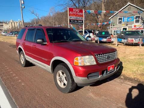 2002 Ford Explorer For Sale >> 2002 Ford Explorer For Sale In Kansas City Ks