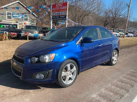 2012 Chevrolet Sonic LTZ for sale at Korz Auto Farm in Kansas City KS
