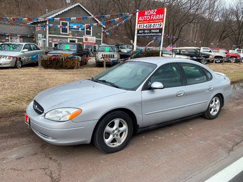 2003 Ford Taurus SE for sale at Korz Auto Farm in Kansas City KS