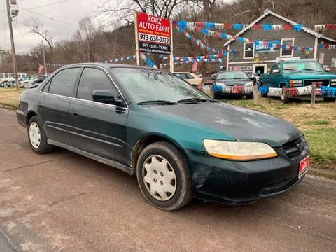 1999 Honda Accord for sale at Korz Auto Farm in Kansas City KS