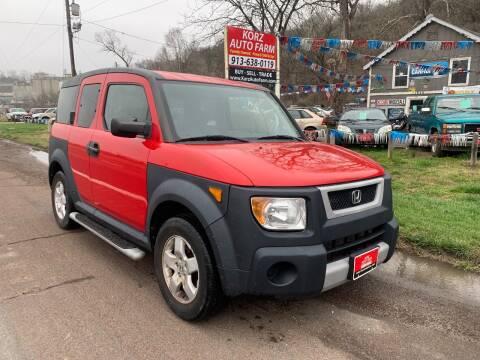 2005 Honda Element for sale at Korz Auto Farm in Kansas City KS