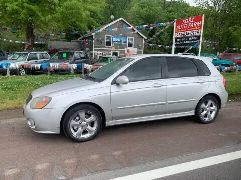 2008 Kia Spectra for sale at Korz Auto Farm in Kansas City KS