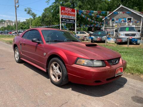 2004 Ford Mustang for sale at Korz Auto Farm in Kansas City KS