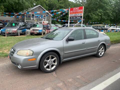 2003 Nissan Maxima for sale at Korz Auto Farm in Kansas City KS