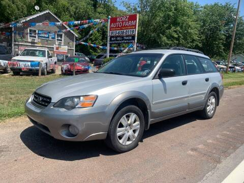 2005 Subaru Outback for sale at Korz Auto Farm in Kansas City KS