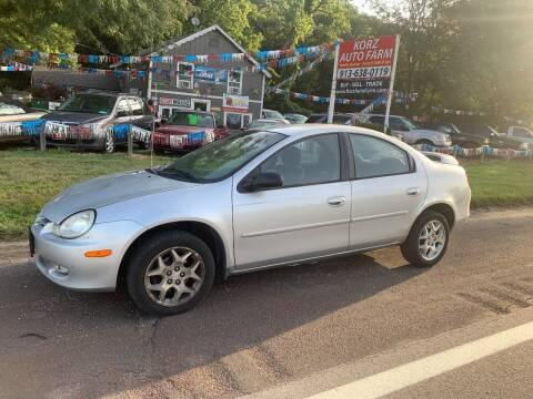 2002 Dodge Neon for sale at Korz Auto Farm in Kansas City KS