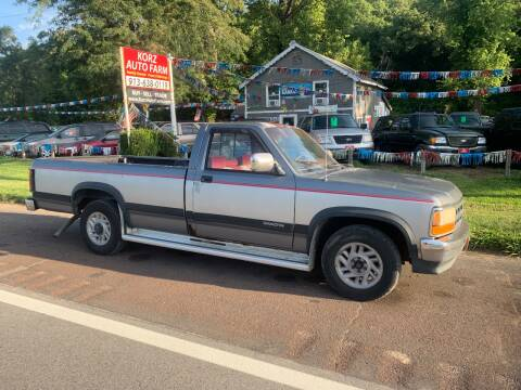 1992 Dodge Dakota for sale at Korz Auto Farm in Kansas City KS
