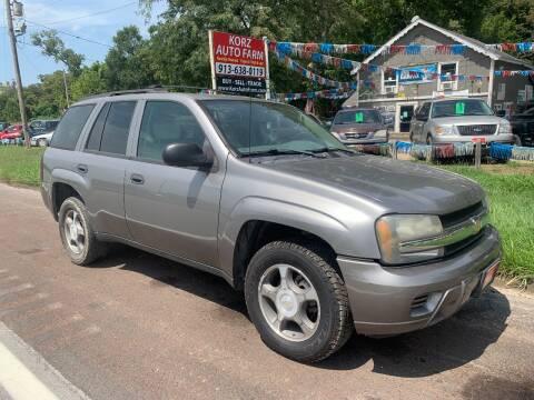 2007 Chevrolet TrailBlazer for sale at Korz Auto Farm in Kansas City KS