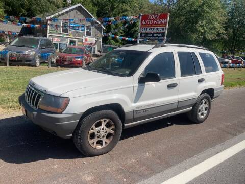 2000 Jeep Grand Cherokee for sale at Korz Auto Farm in Kansas City KS