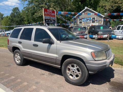 2004 Jeep Grand Cherokee for sale at Korz Auto Farm in Kansas City KS