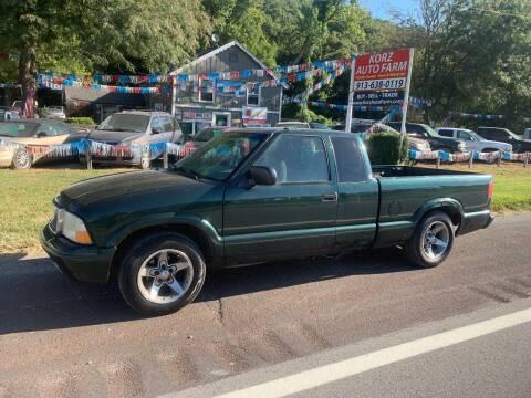 2002 GMC Sonoma for sale at Korz Auto Farm in Kansas City KS