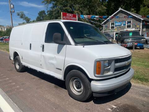 2001 Chevrolet Express Cargo for sale at Korz Auto Farm in Kansas City KS