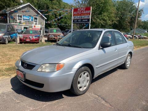 2001 Mazda Protege for sale at Korz Auto Farm in Kansas City KS
