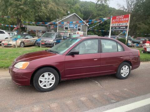 2003 Honda Civic for sale at Korz Auto Farm in Kansas City KS