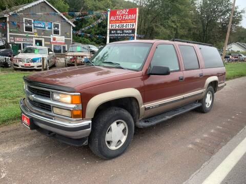 1998 Chevrolet Suburban for sale at Korz Auto Farm in Kansas City KS