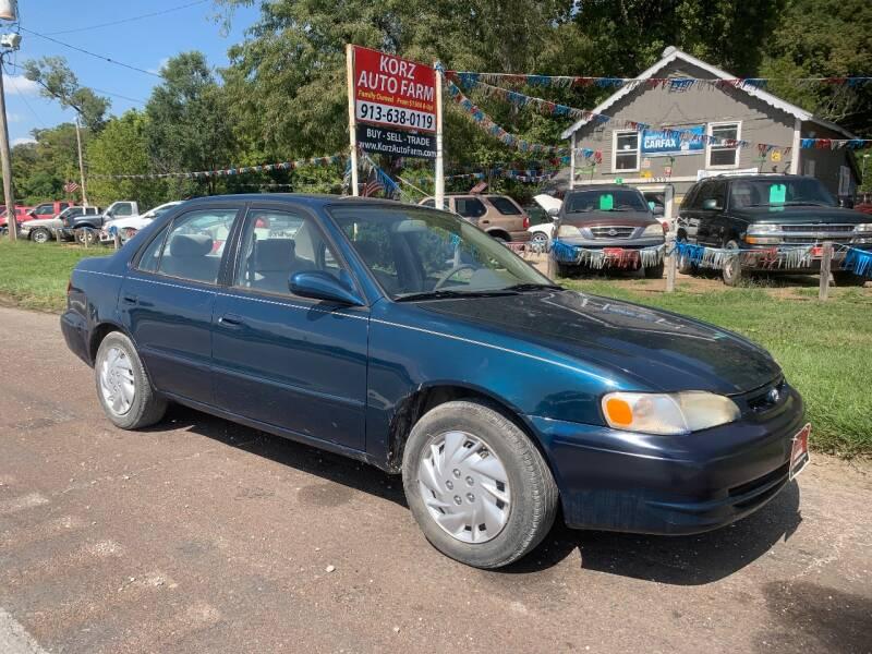 1999 Toyota Corolla for sale at Korz Auto Farm in Kansas City KS