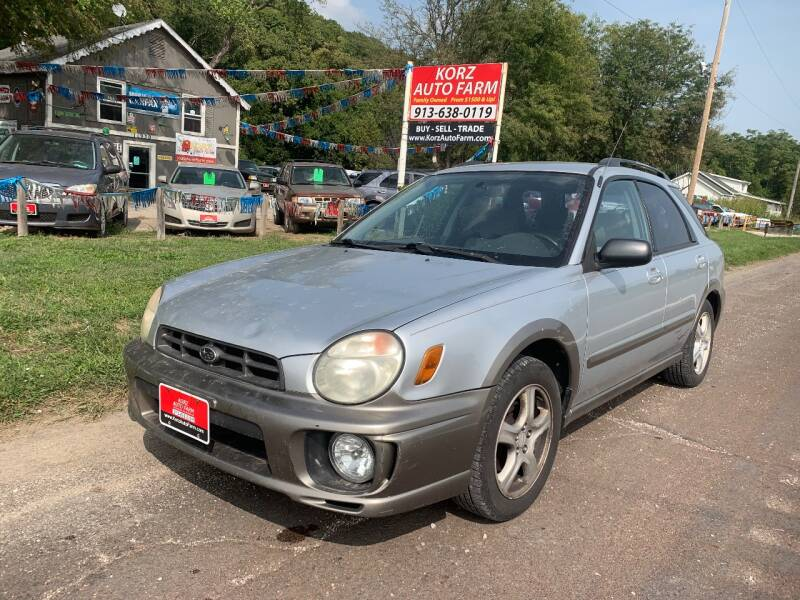 2002 Subaru Impreza for sale at Korz Auto Farm in Kansas City KS