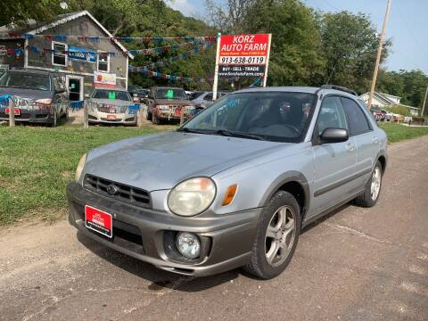2002 Subaru Impreza for sale at Korz Auto Farm in Kansas City KS