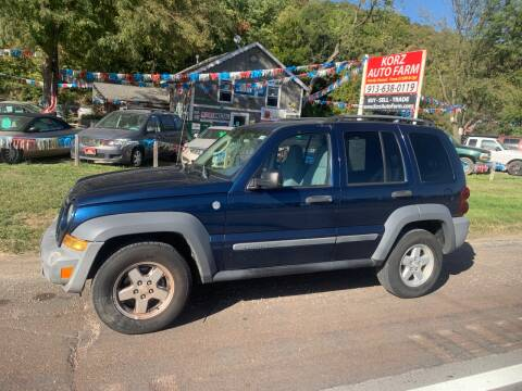 2005 Jeep Liberty for sale at Korz Auto Farm in Kansas City KS