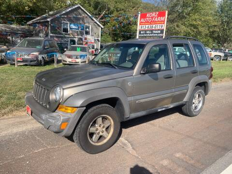 2006 Jeep Liberty for sale at Korz Auto Farm in Kansas City KS