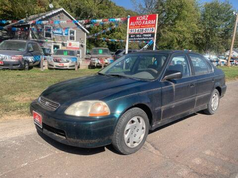 1996 Honda Civic for sale at Korz Auto Farm in Kansas City KS