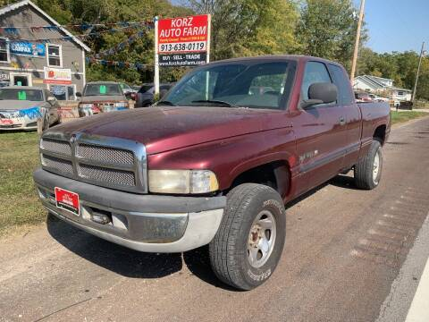 2000 Dodge Ram Pickup 1500 for sale at Korz Auto Farm in Kansas City KS