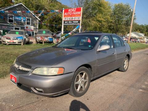 2001 Nissan Altima for sale at Korz Auto Farm in Kansas City KS